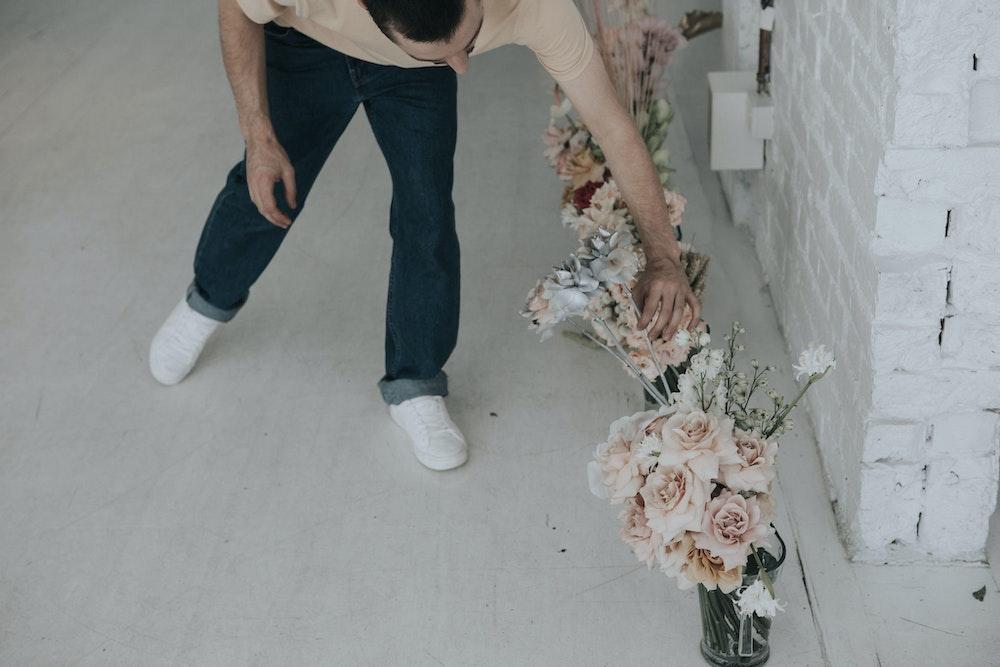 The Party People - Flowers by Brett Matthew John