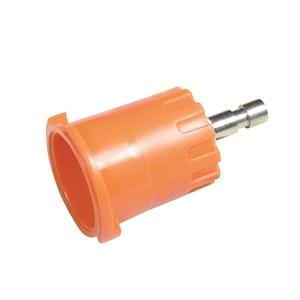 Radiator Cap Pressure Tester Adaptor - Orange Bayonet