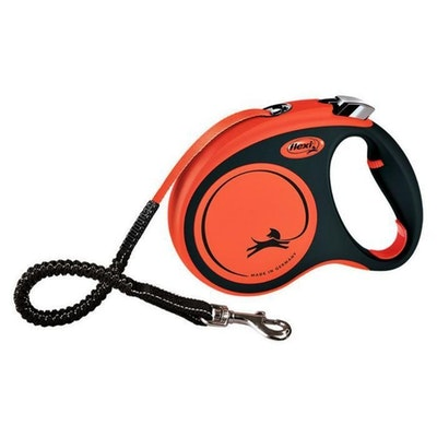 Flexi Xtreme Tape Black/Orange Large 5m