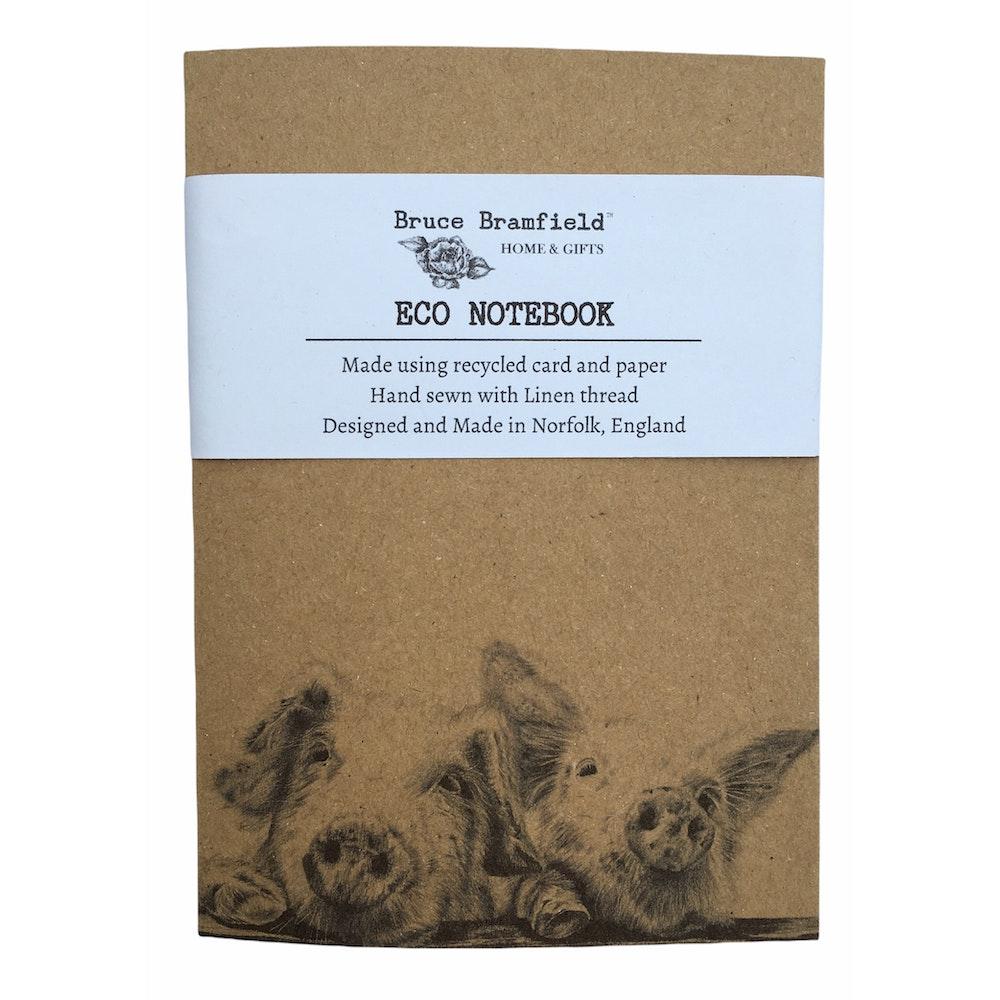 Bruce Bramfield Piggies Eco Notebook