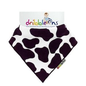 Sock Ons DRIBBLE ONS Cow Print