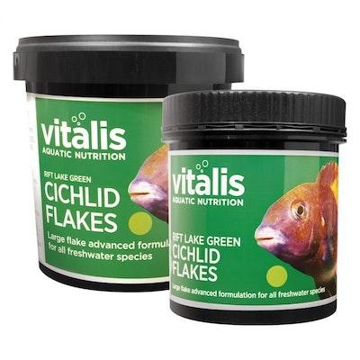 Vitalis Rift Lake Cichlid Flake - Green 30g
