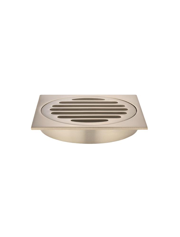 Champagne shower tap floor grate 100mm shower grates for for 100 floors floor 62