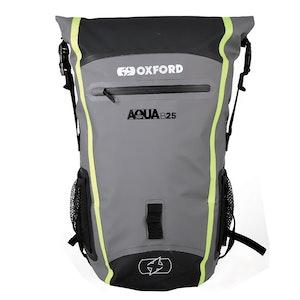 Oxford Aqua B25 Backpack - Black/Grey/Fluro
