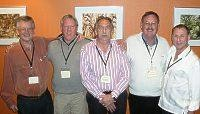 Gus CEO, Peter, Kel, Gary all life members and Mark President