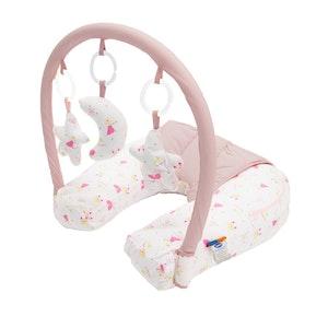 Babyhood Nursing Pillow With Toy Bar