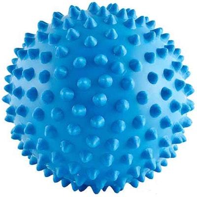 Aussie Dog Mitch Ball Catch Fetch & Play Soft Blue Medium Large