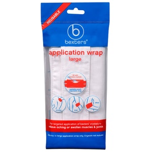 Bexters Soda Crystals Application Wrap Large