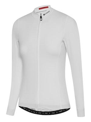 Attaquer Womens A-Line Winter LS Jersey 2.0 White