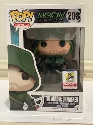 Arrow Unmasked #208 - 2015 San Diego Comic Con