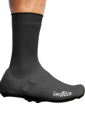 VeloToze Tall Silicone Shoe Cover with Snap Buttons