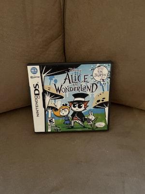 Nintendo DS Alice In Wonderland