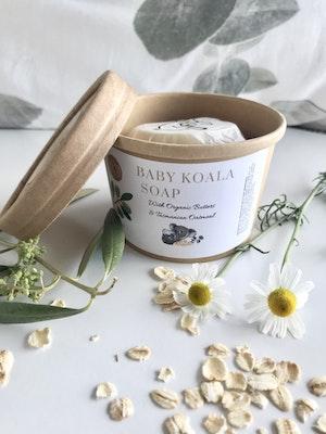 Art'N Green Baby Koala Soap, with Organic Butters & Tasmanian Organic Oatmeal