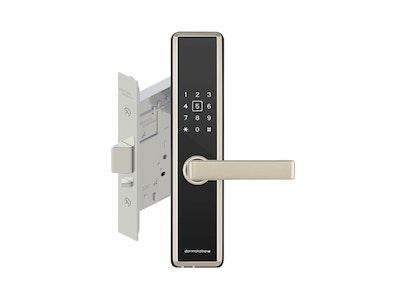 Dormakaba M5 BLE BLE Digital Lockset-Silver Trim