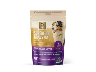 Natural Pet Supplements Skin Support Superfood Gravy