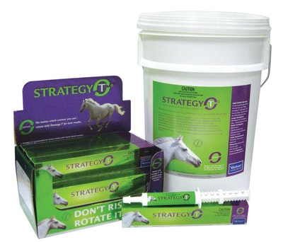 Virbac Strategy T Broadspectrum All Wormer for Horses - 2 Sizes