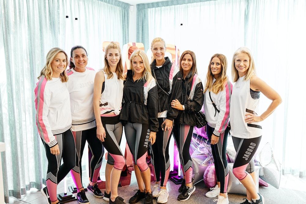 Rebecca Judd x JAGGAD futuristic activewear launch