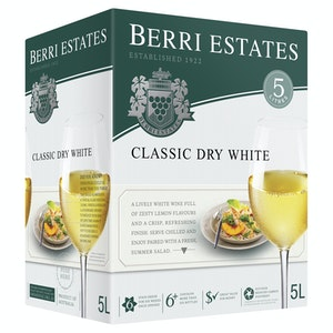 Berri Estates Classic Dry White Cask 5L