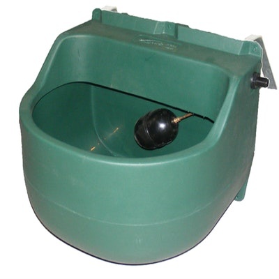 Polymaster 45 Litre Stable Drinker with fence bracket
