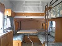 Inside the Jayco pop-top Expanda