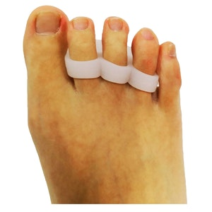 1 Pair Axign 3 Toe Separator Medical Silicone Bunion Pain Relief Spacer