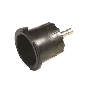 Radiator Cap Pressure Tester Adaptor - Black Bayonet