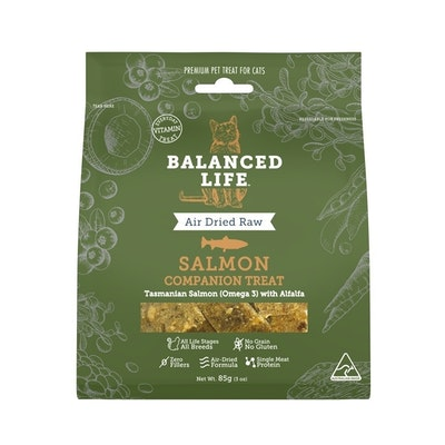 BALANCED LIFE Companion Treats for Cats - Salmon 85g