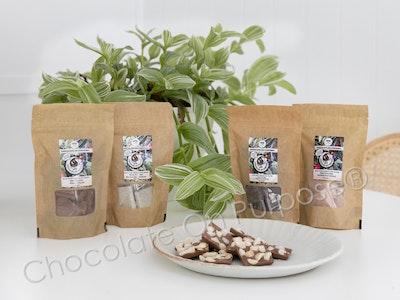 Chocolate On Purpose Milk Chocolate with Quandong (Guwandang) & Macadamia Nut (Boombera)