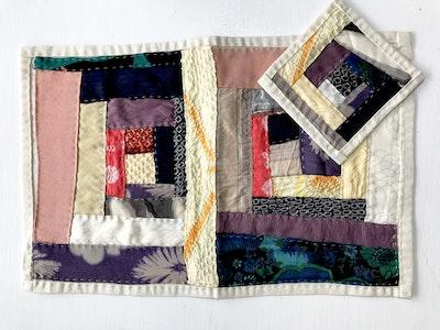 Karhina Slow Stitching with Log Cabin patchwork workshop