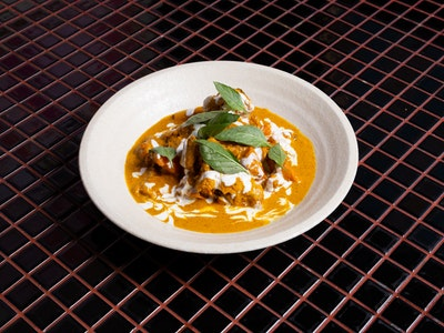 Rich Chicken Curry, Lemongrass, Coconut
