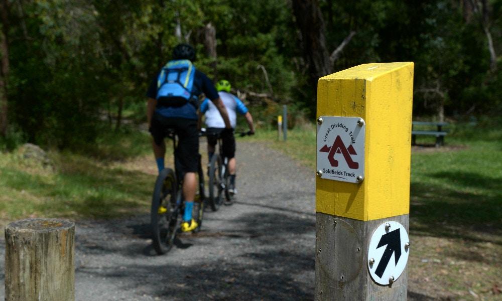 Mountain Biking Gold – Goldfields, Ballarat