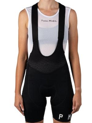 Pedal Mafia Women's PMCC Bib S20 - Black White