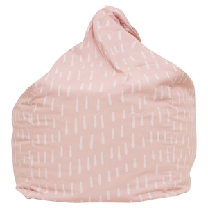 Play Pouch Raindrops Bean Bag - Pink