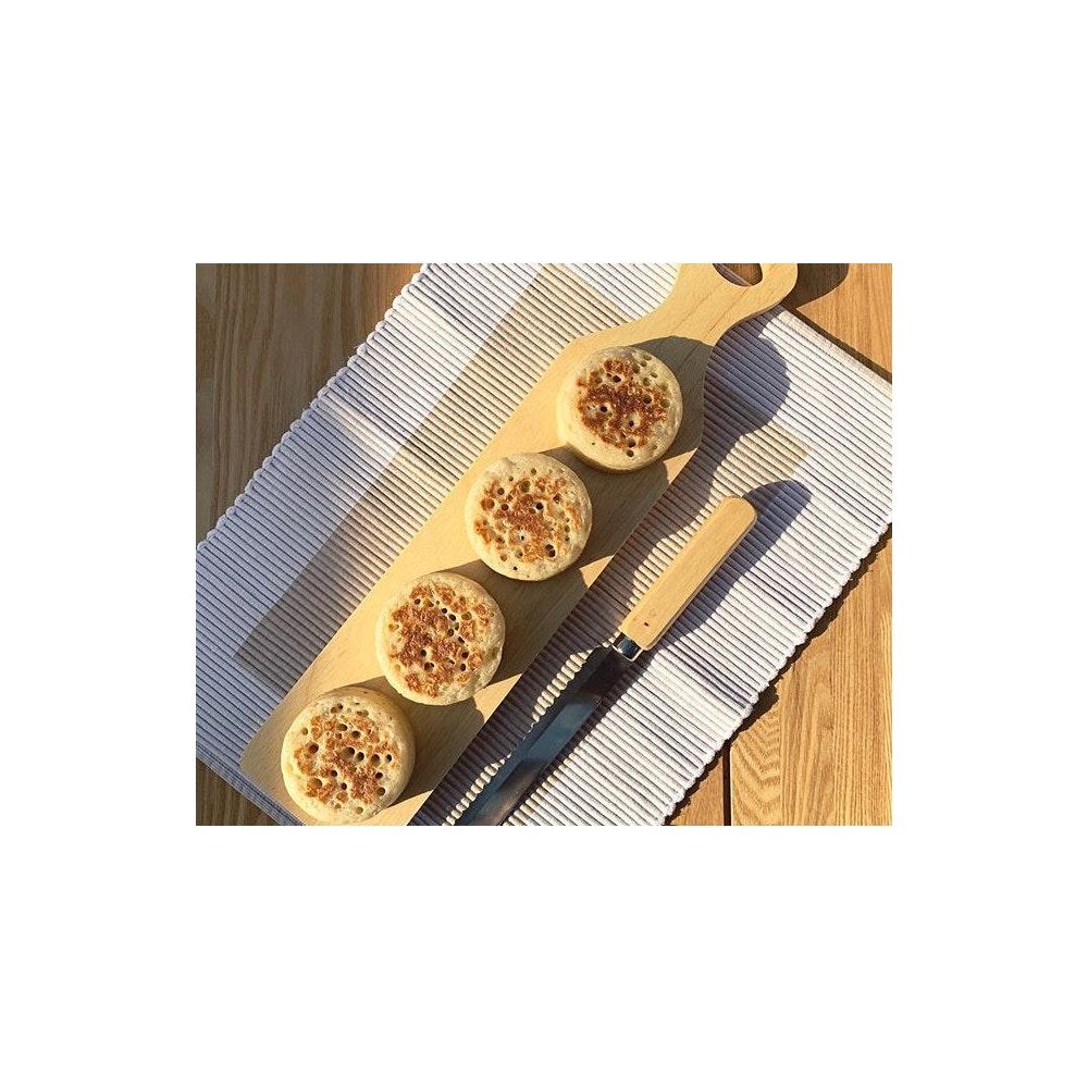 Crumpetorium Classic Original Crumpets 12 Pack, Handmade