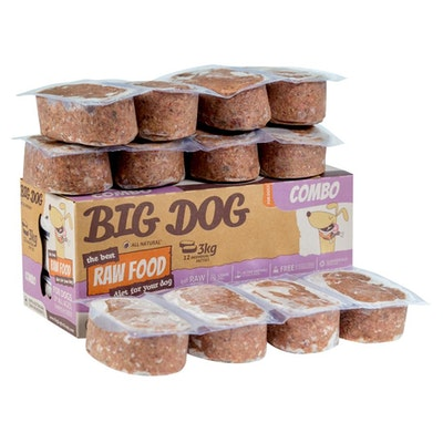 Big Dog BARF Combo For Dogs 3kg