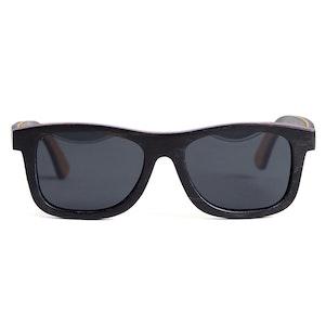 TicTasTogs Recycled Skateboard Sunglasses | Basic Black