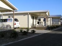 Cutting edge cabins, One Mile Beach Holiday Park
