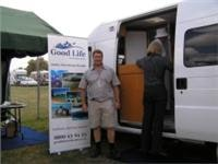Good Life Motorhomes Arran Fensom with  a Ducato conversion