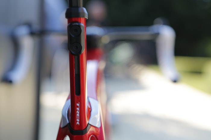Trek Madone Rear Shot