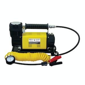 Air Compressor 12v 150psi 160 LPM  45 amp Quick Fill 5m Coiled Hose Carry Bag