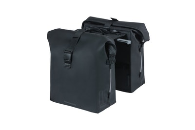 Basil Soho Double Bag Nordlicht MIK Black 41L