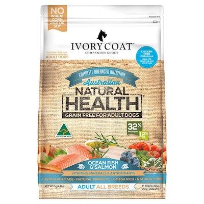 IVORY COAT Grain Free Adult Ocean Fish & Salmon Dry Dog Food