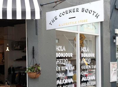 The Corner Booth | Retailer Of The Week