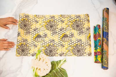By the Metre Beeswax Wraps 34cm width