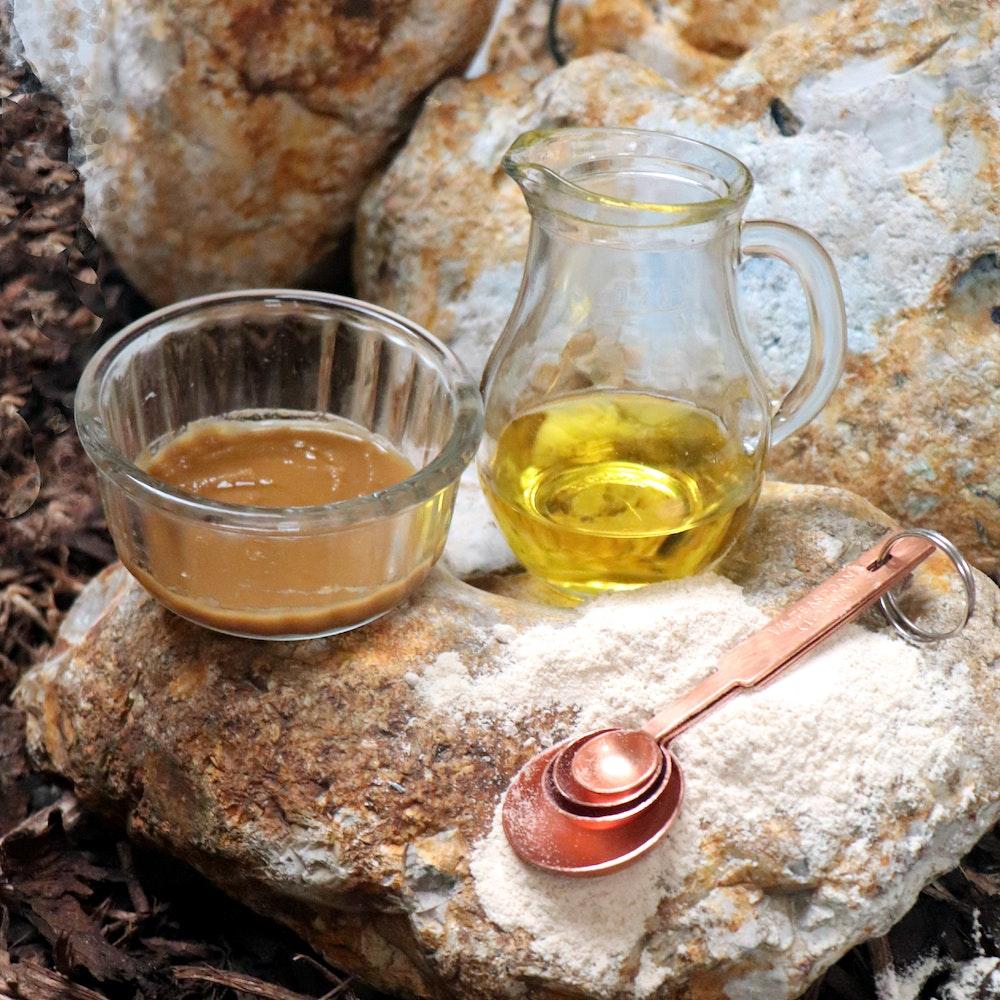 Natural Spa Supplies Permanent Natural Hair Removal Kit, Grade A Thanaka And Organic Safflower (kusumba) Oil