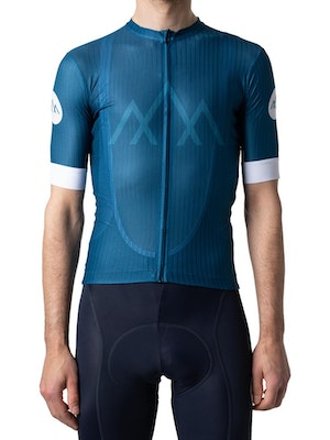 Band of Climbers Helium Jersey - Ocean Blue