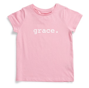 Personalised Name Tee - Pink
