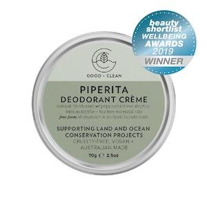 Good & Clean Piperita Deodorant Crème