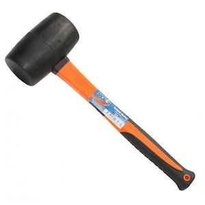 SP30276 Mallet Rubber Hammer 24oz BLACK SP30276