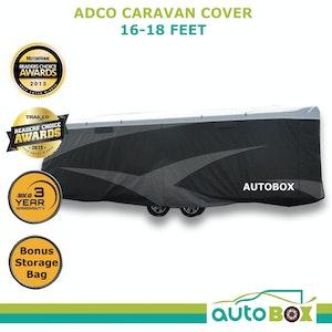 ADCO 16-18 ft (4.9-5.5m) Premium Full Caravan Cover Suit Jayco Journey 16.5 17.5